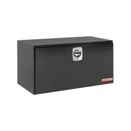 WEATHER GUARD® 550-5-02 Jumbo Standard Underbed Box, 24-1/8 in H x 24-1/4 in W x 48-1/8 in D, 16.2 cu-ft, Gloss Black