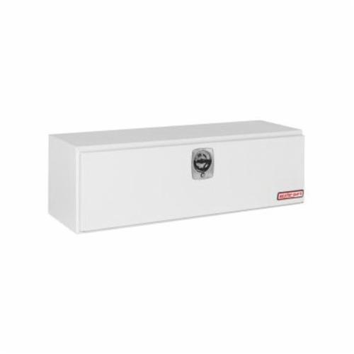 WEATHER GUARD® 560-3-02 Long Underbed Box, 18-1/8 in H x 18-1/4 in W x 60-1/8 in D, 11.2 cu-ft, Brite White