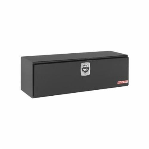 WEATHER GUARD® 560-5-02 Long Underbed Box, 18-1/8 in H x 18-1/4 in W x 60-1/8 in D, 11.2 cu-ft, Gloss Black
