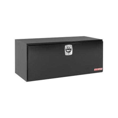 WEATHER GUARD® 562-5-02 Jumbo Long Underbed Box, 24-1/8 in H x 24-1/4 in W x 60-1/8 in D, 20 cu-ft, Gloss Black