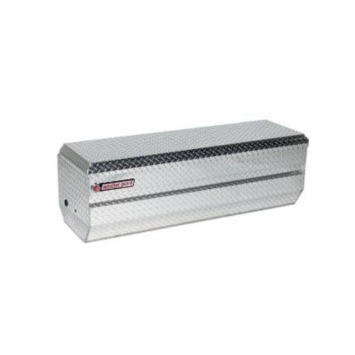 WEATHER GUARD® 664-0-01 Full Standard All Purpose Chest, 19-1/4 in H x 20 in W x 62 in D, Aluminum
