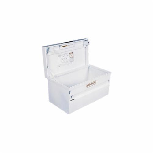 WEATHER GUARD® 9036-3 Secure Storage Mount Strong Box, 16 in H x 36-3/4 in W x 19-1/2 in D, 8.2 cu-ft, White