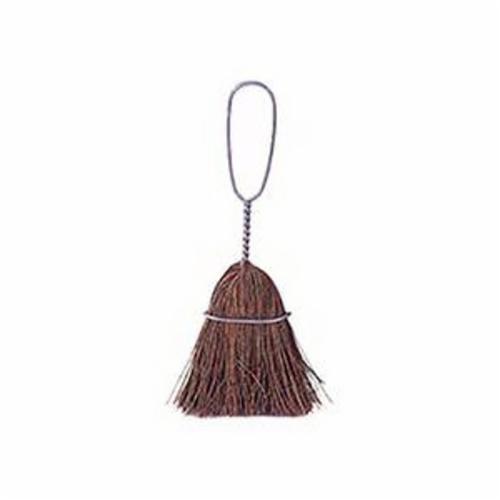 Weiler® 44103 Whisk Broom, Bassine Bristle, 5-1/4 in L Trim, Wood Handle