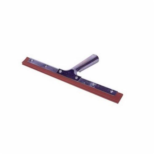 Weiler® 45538 Window Squeegee, Rubber Blade, 60 in L Handle