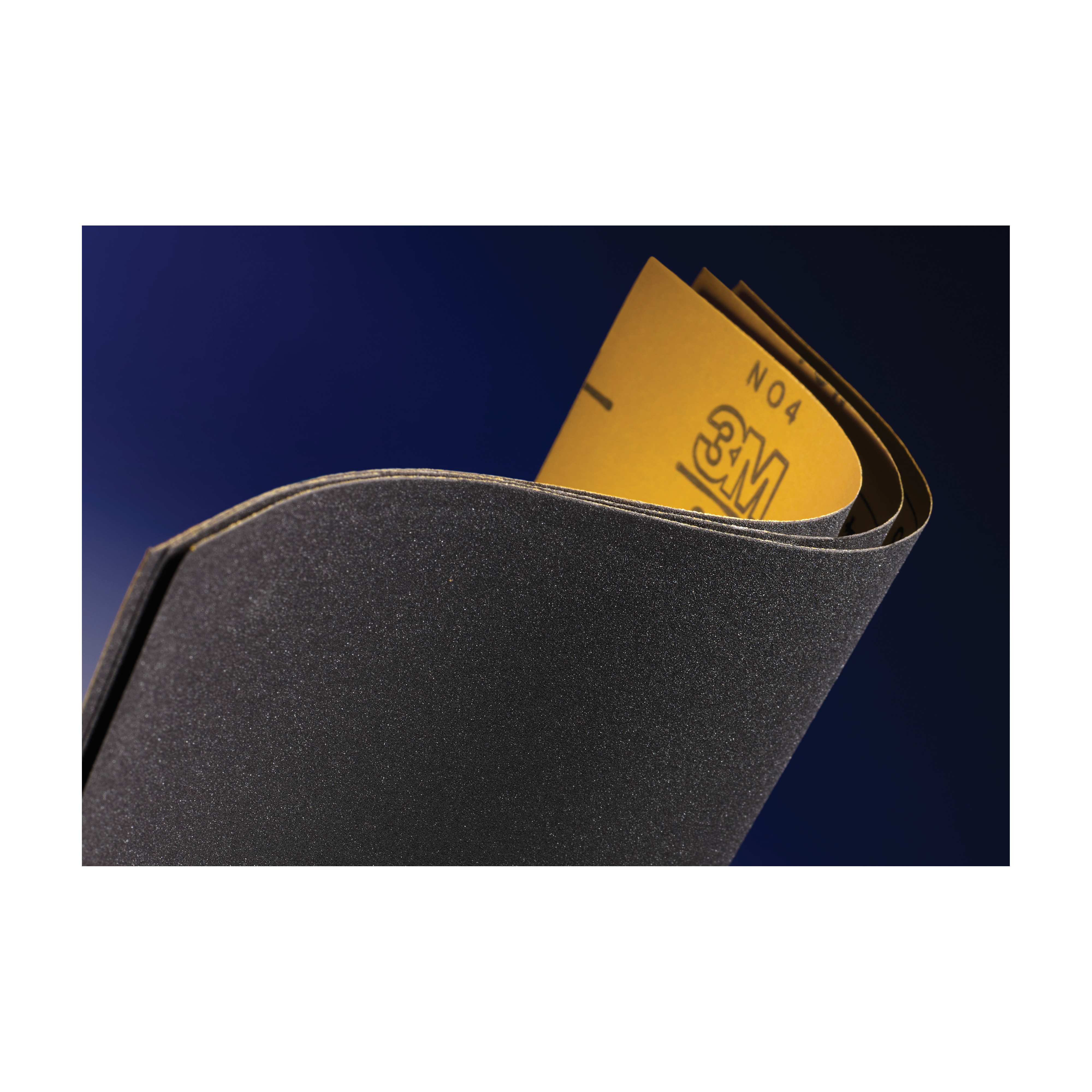3M™ Wetordry™ 051144-14944 401Q Coated Sanding Sheet, 9 in L x 3-2/3 in W, 1000 Grit, Ultra Fine Grade, Silicon Carbide Abrasive, Paper Backing