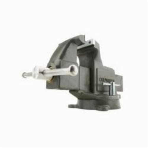 Wilton Columbian 10206 Machinist Bench Vise Serrated Jaw 10 In Jaw Opening 6 In W Steel Jaw 4 3 8 In D Throat Dillon Supply