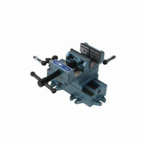 Wilton® 11693 Cross Slode Drill Press Vise, 3 in Jaw Opening, Cast Iron