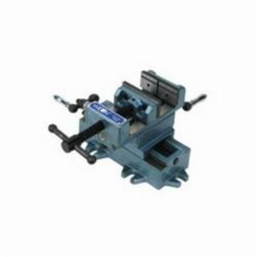 Wilton® 11696 Cross Slide Drill Press Vise, 9-1/2 in L x 7-1/4 in H, 6 in Jaw Opening, Cast Iron