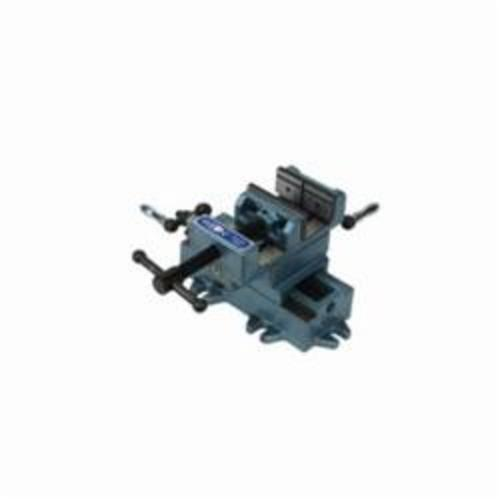 Wilton® 11698 Cross Slide Drill Press Vise, 11 in L x 7-1/4 in H, 8 in Jaw Opening, Cast Iron