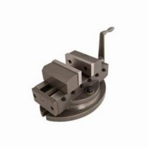 Wilton® 11713 Self-Centering Super Precision Milling Vise, 11-13/32 in L x 6-7/64 in H, 4 in Jaw, Alloy Steel