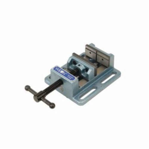 Wilton® 11743 Low Profile Drill Press Vise, 3 in Jaw Opening, Cast Iron/Steel