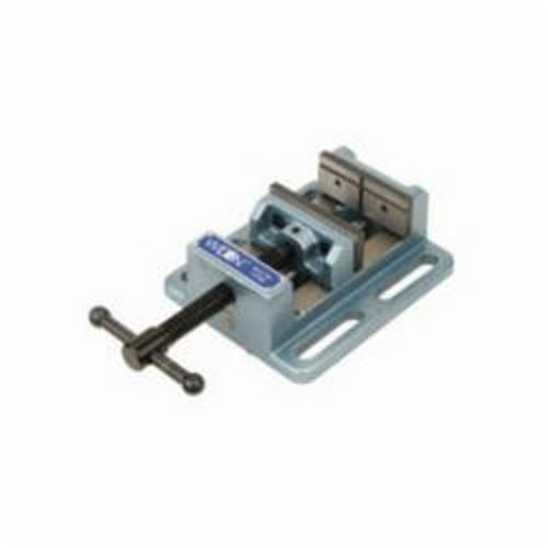 Wilton® 11746 Low Profile Drill Press Vise, 8-1/2 in L x 3.56 in H, 6 in Jaw Opening, Cast Iron