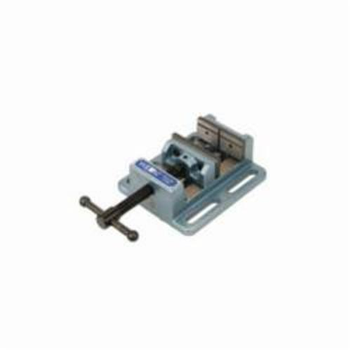 Wilton® 11748 Low Profile Drill Press Vise, 11 in L x 3-9/16 in H, 8 in Jaw Opening, Cast Iron