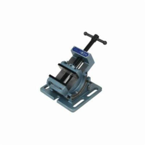 Wilton® 11753 Cradle Style Angle Drill Press Vise, 3 in Jaw Opening, Fine Grain Cast Iron