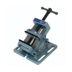 Wilton® 11754 Angle Cradle Drill Press Vise, 7-1/4 in L x 4-1/2 in H, 4 in Jaw Opening, Cast Iron