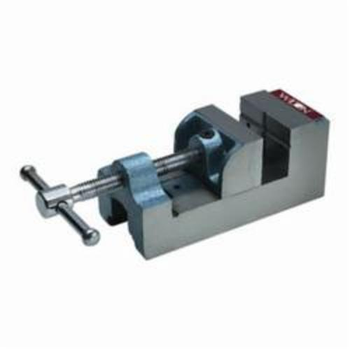 Wilton® 12800 Regular Drill Press Vise, 8-13/64 in L x 3-3/4 in H, 2-9/16 in Jaw Opening, 600 lb Capacity, Cast Iron