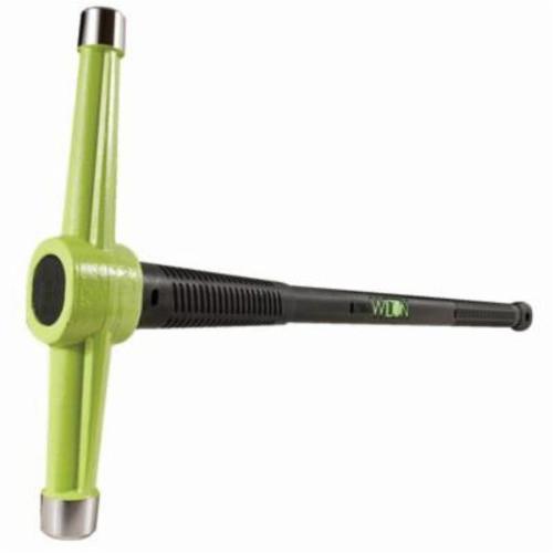 Wilton® B.A.S.H® 31036 Spike Maul, 10 lb Head, 38 in OAL, Vulcanized Rubber Handle