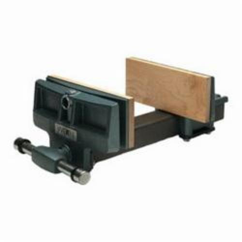 Wilton® 63144 Rapid Acting Woodworkers Vise, 19-1/4 in L x 7-3/4 in H, 10 in Jaw, Cast Iron