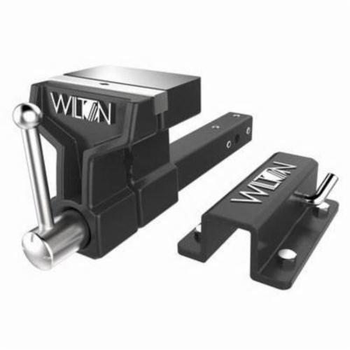 Wilton® 10010 Lightweight All-Terrain Vise, 21-1/2 in L x 8-1/2 in H, 5-7/5 in Jaw Opening, 1 ton Capacity, Ductile Iron