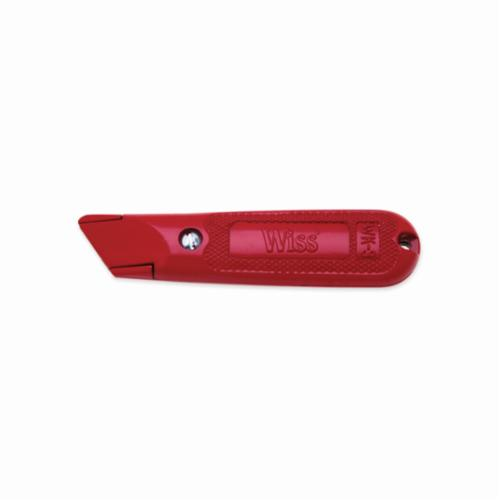 CRESCENT Wiss® WK9V Heavy Duty Utility Knife, Fixed Blade, 3 Blades Included