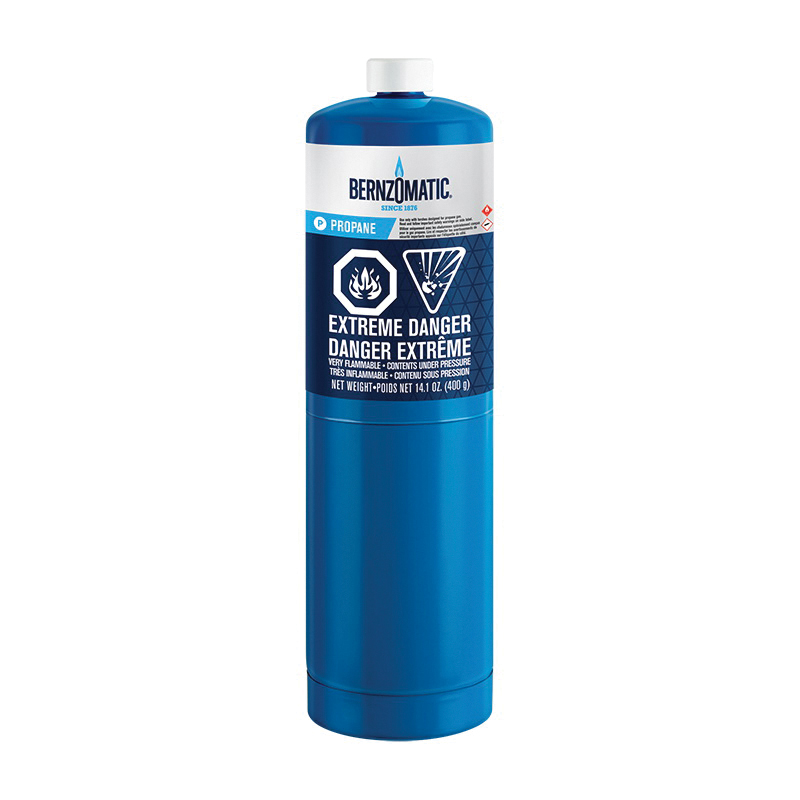 Worthington™ MAP-PRO™ TX-9 Hand Torch Cylinder, For Use With Bernzomatic Torch, Propylene/Oxygen, Steel