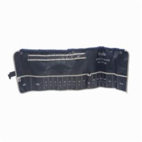 Xcelite® Series 99® 99SMK Tool Case, 9-1/4 in H x 25-1/2 in D, Plastic, Blue
