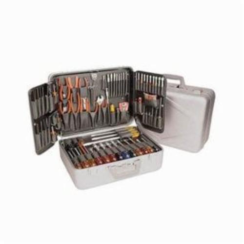 Xcelite® TCA100ST Tool Kit, Case Tool Storage, 86 Pieces, Aluminum