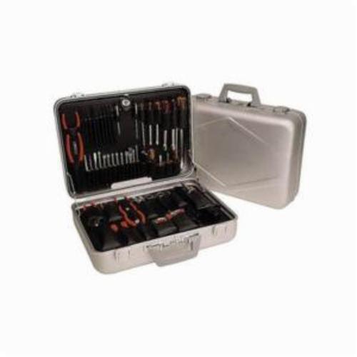 Xcelite® TCA150ST Tool Kit, Case Tool Storage, 46 Pieces, Aluminum