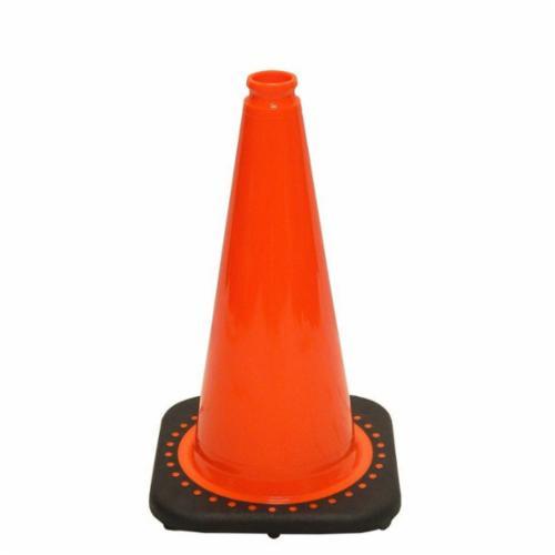 Zenith® RS45015C Traffic Cone, 18 in H, Fluorescent Orange Cone