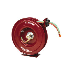 Alemite® 8071-D Severe Duty Hose Reel, 1/4 in x 50 ft Hose, 200 psi Pressure