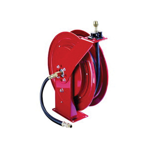 Alemite® 8078-D Heavy Duty Medium Pressure Hose Reel, 1/2 in x 50 ft Hose, 1500 psi Pressure