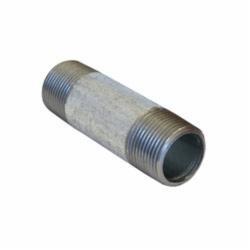 Beck® 0331000208 FIG 343 Standard Pipe Nipple, 1/8 in x 3/4 in L MNPT, Steel, Galvanized, SCH 40/STD, Welded
