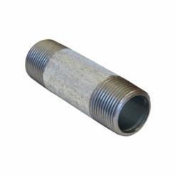 Beck® 0331001008 FIG 343 Standard Pipe Nipple, 1/8 in x 3 in L MNPT, Steel, Galvanized, SCH 40/STD, Welded