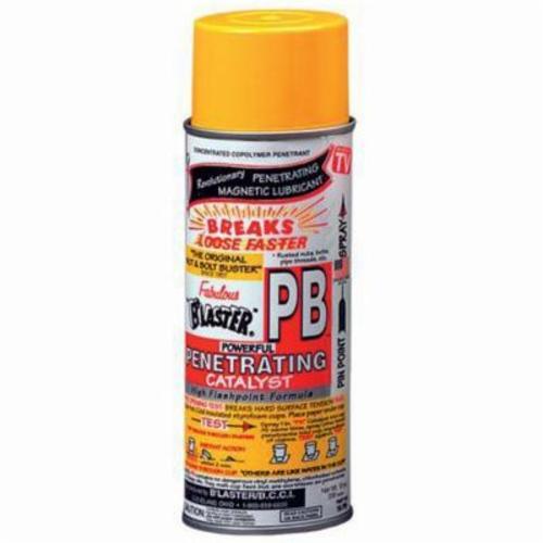 B'laster® 16-PB Penetrating Catalyst, 11 oz Aerosol Can, Gas/Pressurized Liquid, Orange, 0.91