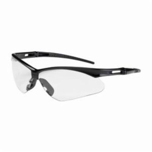 Bouton® 250-AN-10111 Anser™ 250-AN Dual Lens Safety Glasses With Adjustable Neck Cord, Anti-Fog, Clear Lens, Semi-Rimless Frame, Black, Polycarbonate Frame, Polycarbonate Lens, ANSI Z87.1+, CSA Z94.3