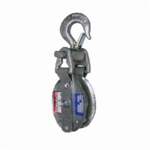 Campbell® 7267396 3074V Single Sheave Snatch Block, Manila Rope Cable, 1 in, 5000 lb Load, 5/8 in ID x 4-1/2 in OD
