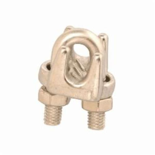 Campbell® T7633002 Wire Rope Clip, 1/8 in, Cast Stainless Steel