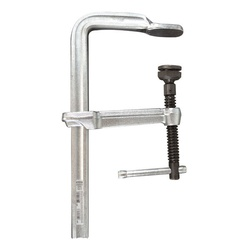 classiX™ GSM40 Regular Duty F-Style Bar Clamp, 5-1/2 in D Throat, 16 in Clamping, Replaceable Swivel