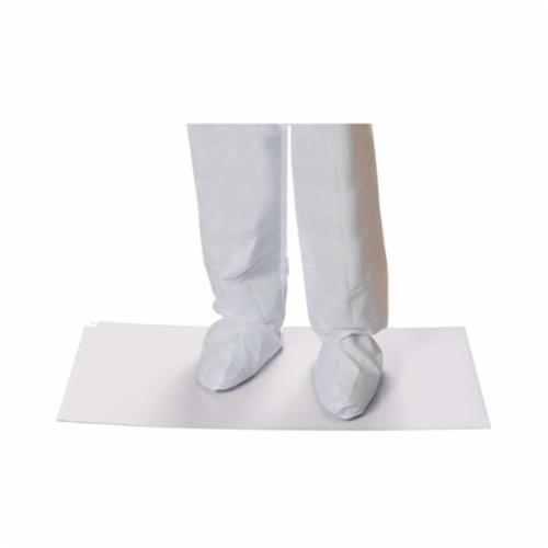 PIP® CleanTeam® 100-93-183638W Contamination Control Clean Room Mat, 36 in L x 18 in W x 0.05 mm THK, White, Polyethelene, 30 Sheets per Mat