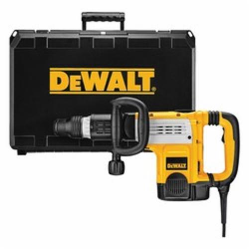 DeWALT® D25891K Corded Demolition Hammer Kit With Shocks™ Vibration Control, 1152 to 2304 bpm, 3/4 in Chuck, 7 Speed Setting