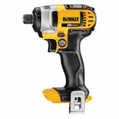 DeWALT® 20V MAX* DCF885B High Performance Cordless Impact Driver With Quick-Release Anvil, 1/4 in Hex Drive, 3200 bpm, 1400 in-lb Torque, 20 VAC, 5-5/8 in OAL, Tool Only