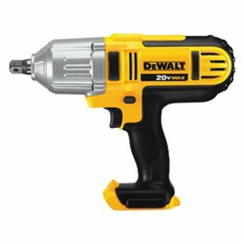 DeWALT® 20V MAX* DCF889B High Performance Cordless Impact Wrench With Detent Pin Anvil, 3/8 in Straight/Square Drive, 2700 bpm, 400 ft-lb Torque, 20 VDC, 10-3/4 in OAL, Tool Only