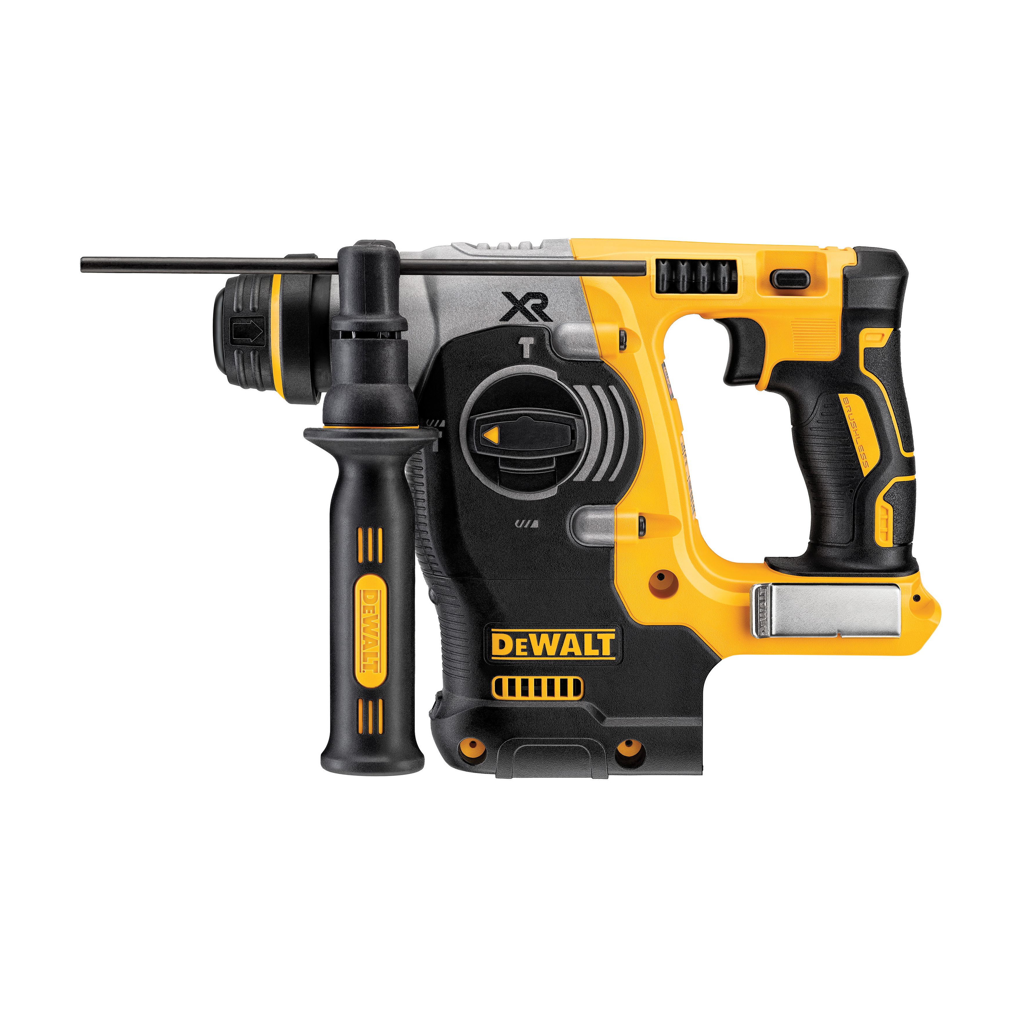 DeWALT® 20V MAX* DCH273B XR™ High Performance Cordless Rotary Hammer, 1 in SDS Plus® Chuck, 20 VAC, 0 to 1100 rpm No-Load, Lithium-Ion Battery