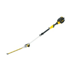 DeWALT® 40V MAX* DCHT895M1 XR Cordless Telescoping Pole Hedge Trimmer Kit, 1 in Cutting, Dual Action Blade, 40 VDC, Lithium-Ion Battery, Plastic Housing