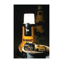 DeWALT® 20V MAX* MATRIX™ DCL070 Corded/Cordless LED Area Light, LED Lamp, 20 VDC, Tool Only