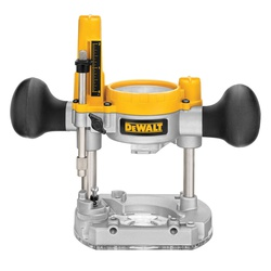 DeWALT® DNP612 Heavy Duty Plunge Base, For Use With Compact Router, Clear