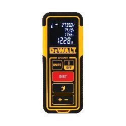 DeWALT® DW099E Laser Distance Measurer, 1/2 to 99 ft Measuring, 3/32 in Accuracy, LCD Display, AAA Battery
