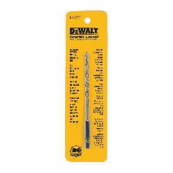 DeWALT® DW2572 Rapid Load® Masonry Drill Bit, 5/32 in Drill Bit, 1/4 in Hex/Straight Shank, 2 in D Cutting, Carbide Cutting Edge, 5 in OAL
