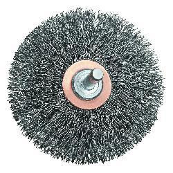 DeWALT® HP™ DW49007 Flared Wheel Brush, 2 in Dia Brush, 1/2 in W Face, 0.014 in Dia Crimped Filament/Wire