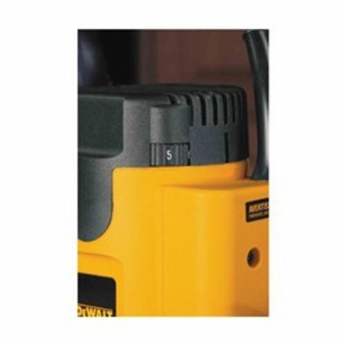 DeWALT® DW621 Heavy Duty Plunge EVS Router, Trigger Switch, 1/4 in, 1/2 in in Chuck, 8000 to 24000 rpm Speed, 2 hp, 120 VAC